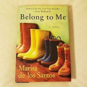 Belong to Me Hard Back Book